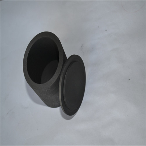 graphite crucible with lid
